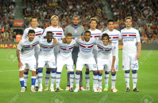 15079575-UC-Sampdoria-team-posing-before-Joan-Gamper-Trophy-match-between-FC-Barcelona-and-UC-Sampdoria-at-No-Stock-Photo